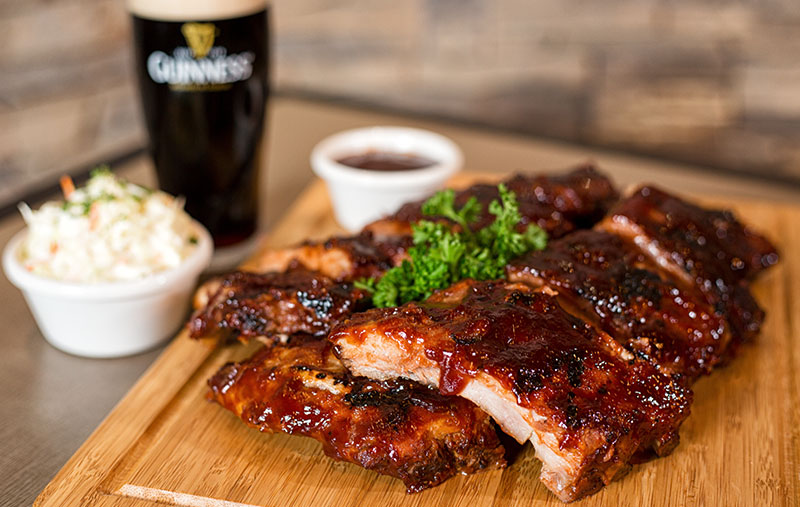 Oh, Baby Back Ribs Platter